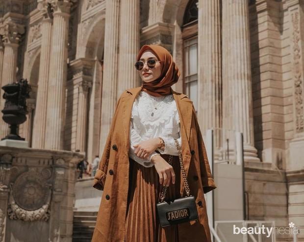 Gaya hijab khas Indonesia memang cukup beragam