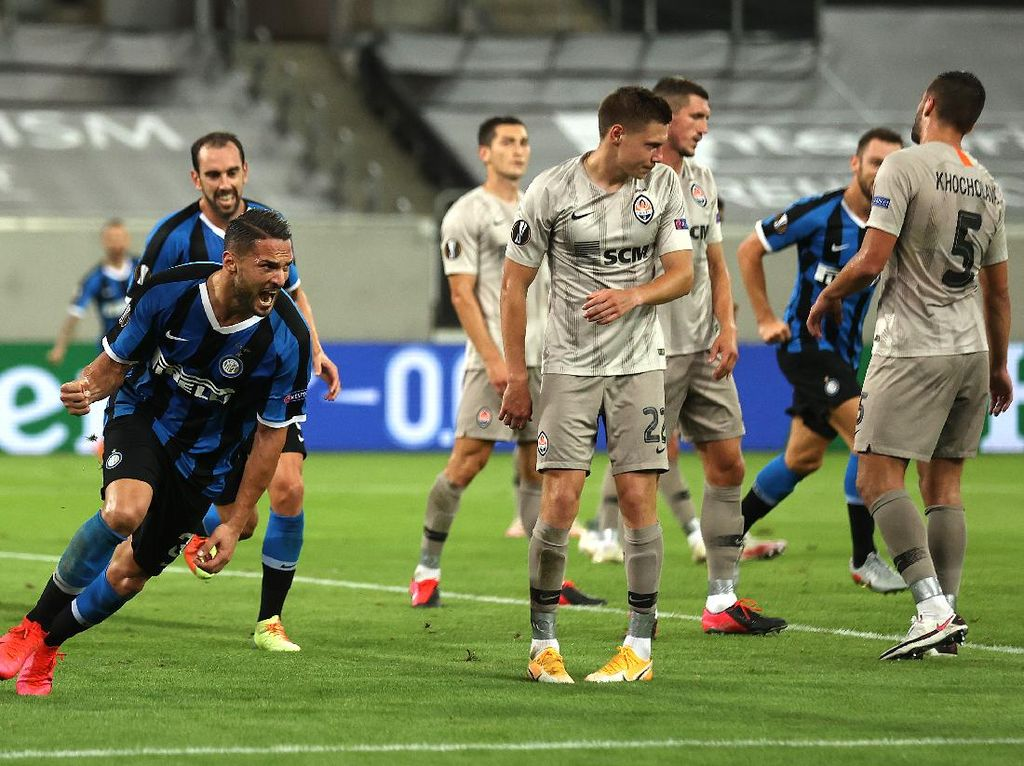 Inter: Bukan Cuma Madrid, Shakhtar dan Gladbach Sama Sulitnya