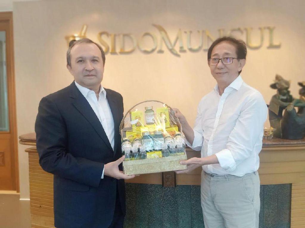 Terima Kunjungan Dubes Uzbekistan, Bos Sido Muncul Bicara soal Ekspor