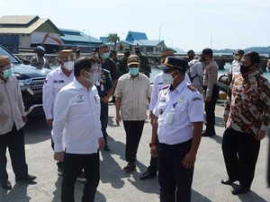 Pelabuhan Anggrek Dioptimalkan untuk Ekspor Jagung-Molase ke Filipina