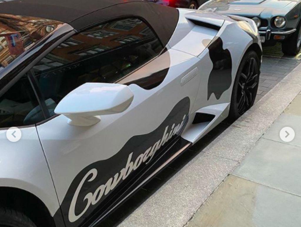 Mooo..Lamborghini Huracan Berkonsep Sapi Disapa Cowborghini
