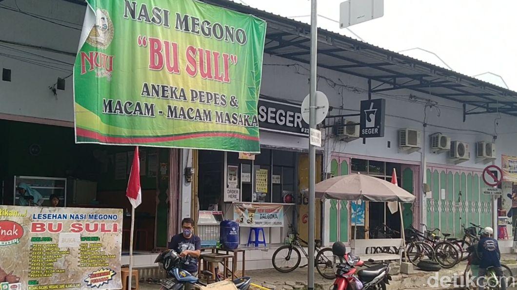 Nasi megono Bu Suli khas Pekalongan