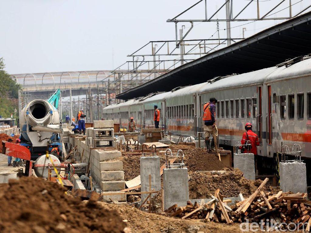 Revitalisasi Stasiun Bekasi Terus Dikebut