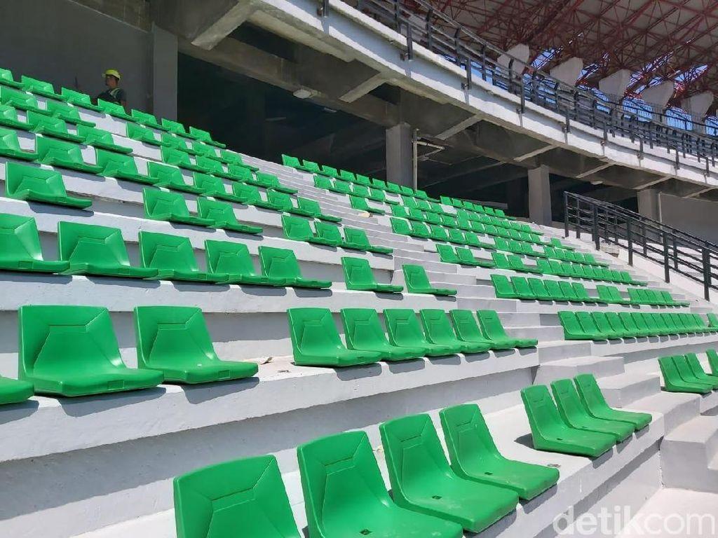 Kata Suporter Surabaya soal Pemasangan Kursi Single Seat di Tribun GBT