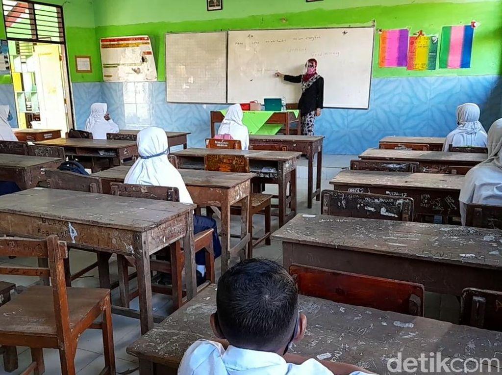 154 SMP di Brebes Mulai Sekolah Tatap Muka Hari Ini