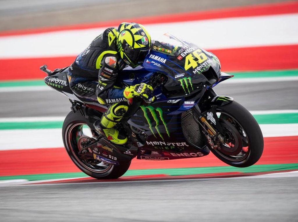 Rossi Nyaris Celaka di MotoGP Austria, Ini Tips Atasi Syok Menurut Psikolog