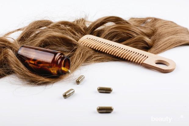 Penggunaan vitamin rambut bertujuan untuk menutrisi rambutmu agar enggak mudah rusak.