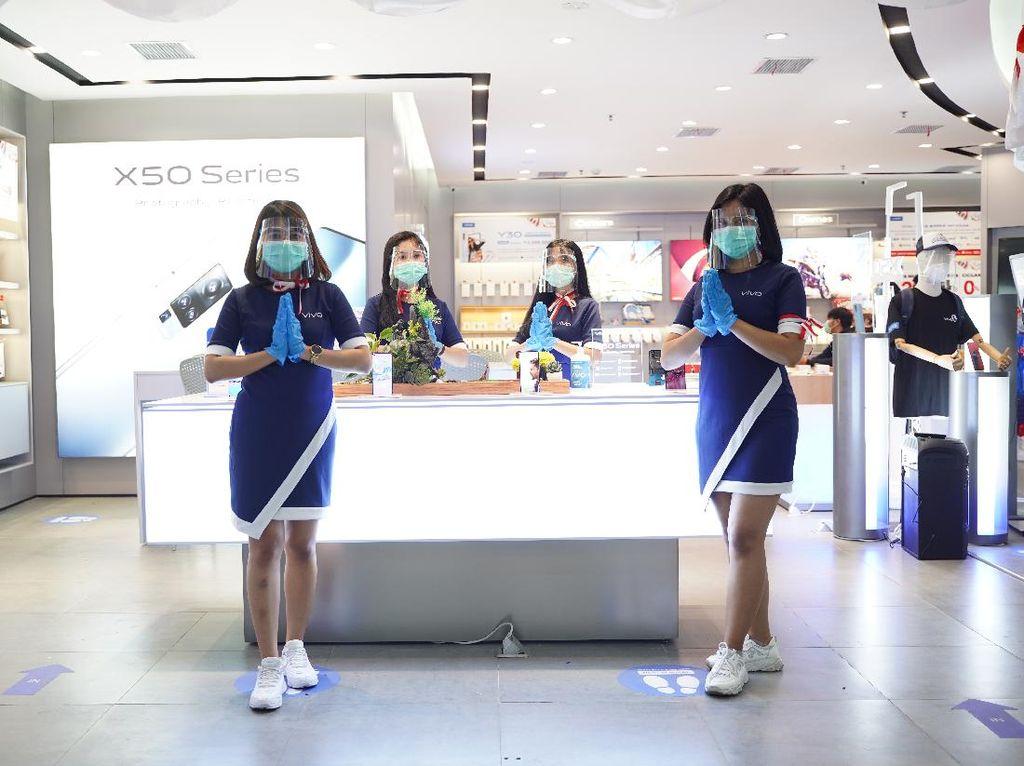 Tingkatkan Kenyamanan Konsumen, Vivo Resmikan New Concept Vivo Store