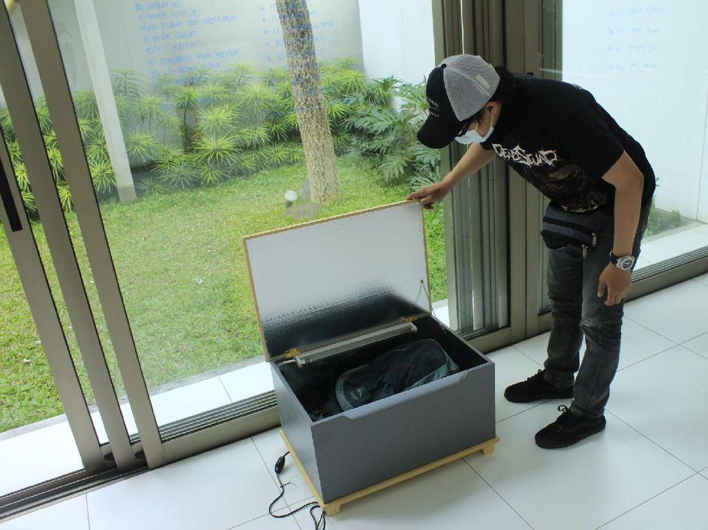 Potret Alat Pembasmi Virus Corona Berteknologi UV Inovasi Pemuda Bandung
