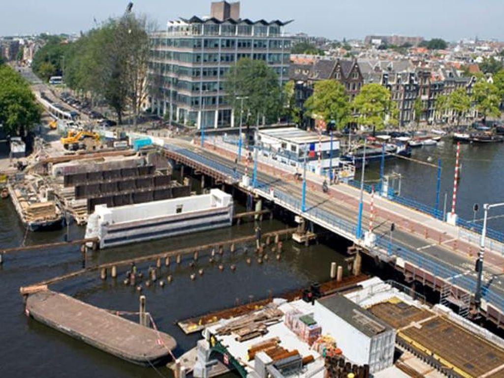 Potret Kanal Amsterdam yang Terancam Tenggelam
