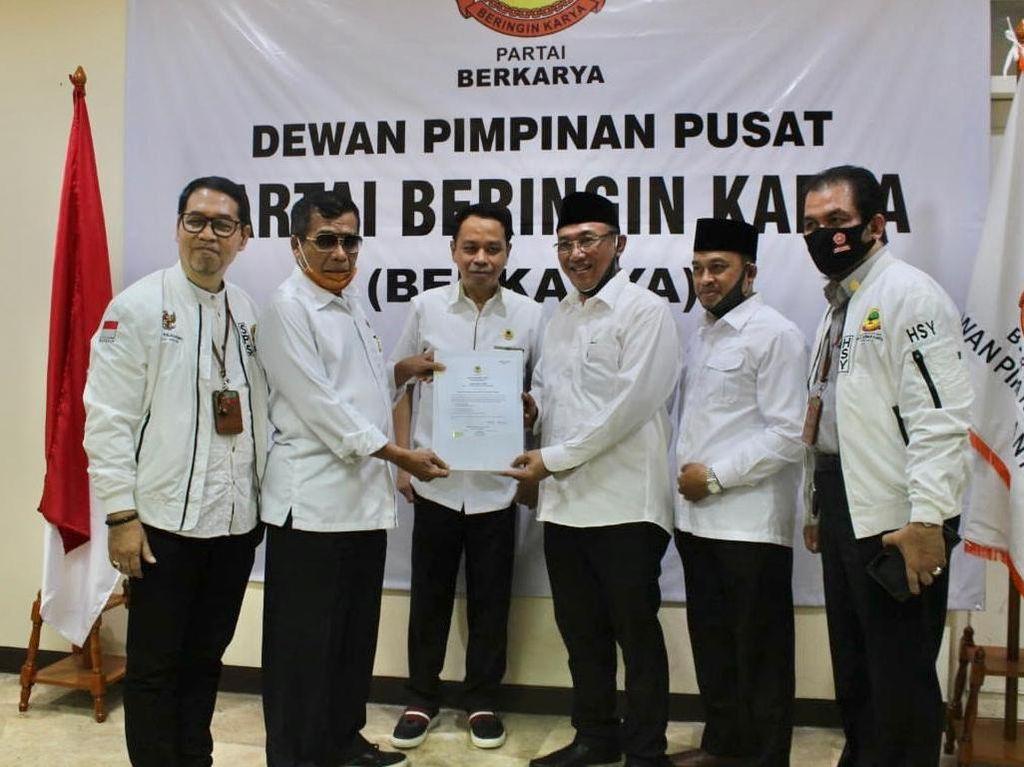 Koalisi dengan PKS, Berkarya Muchdi Usung Helldy-Sanuji di Pilwalkot Cilegon