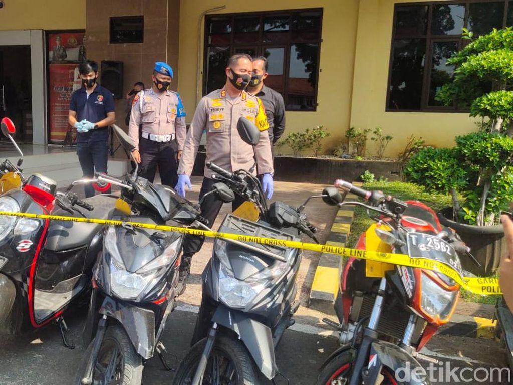 Beraksi di 34 TKP, 6 Pelaku Curanmor di Subang Ditangkap Polisi
