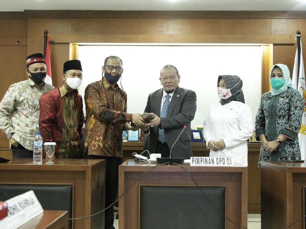 Gelar Pemilihan Pimpinan Alkel, DPD Minta Pembangunan Daerah Dikebut