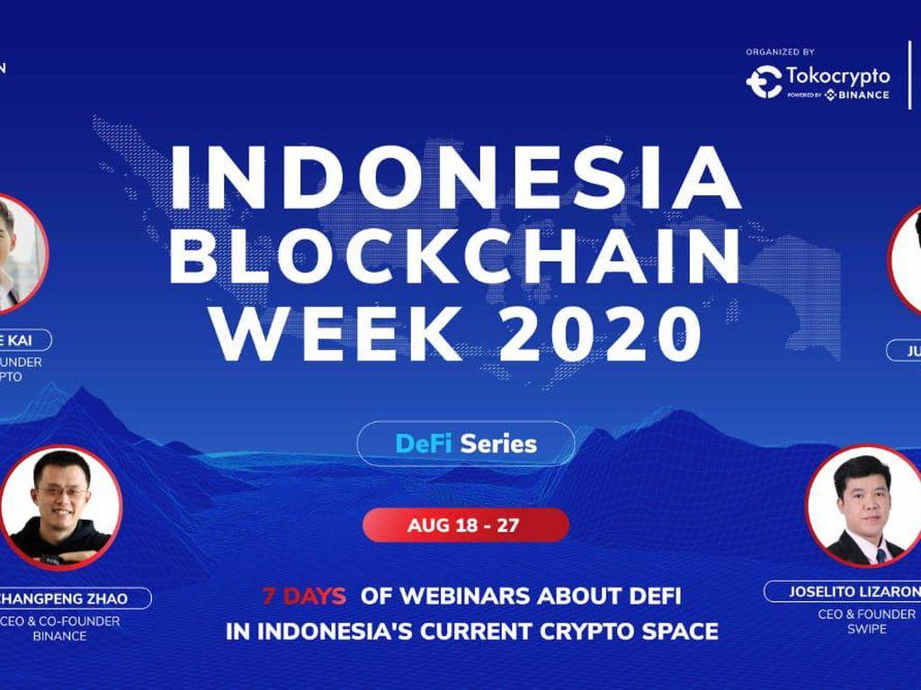 DeFi Jadi Pembahasan di Indonesia Blockchain Week 2020