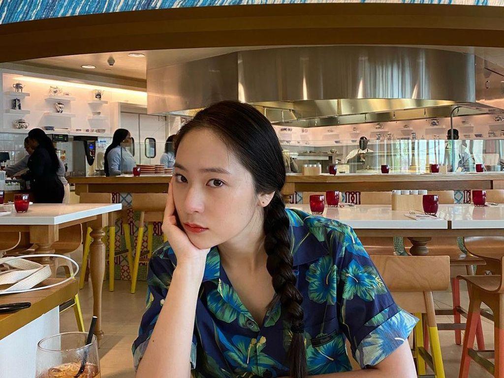 10 Momen Kuliner Krystal Jung yang Hobi Pamer Minuman