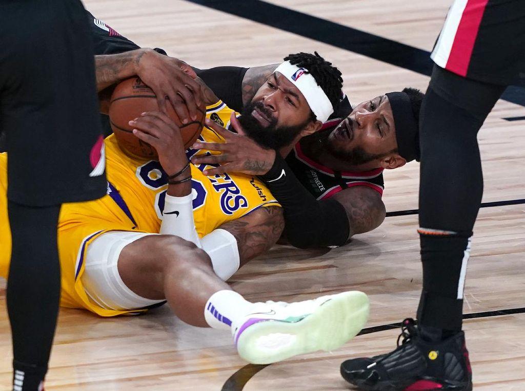 Lakers Vs Blazers: LeBron James cs kalah di Gim Pertama Playoff NBA