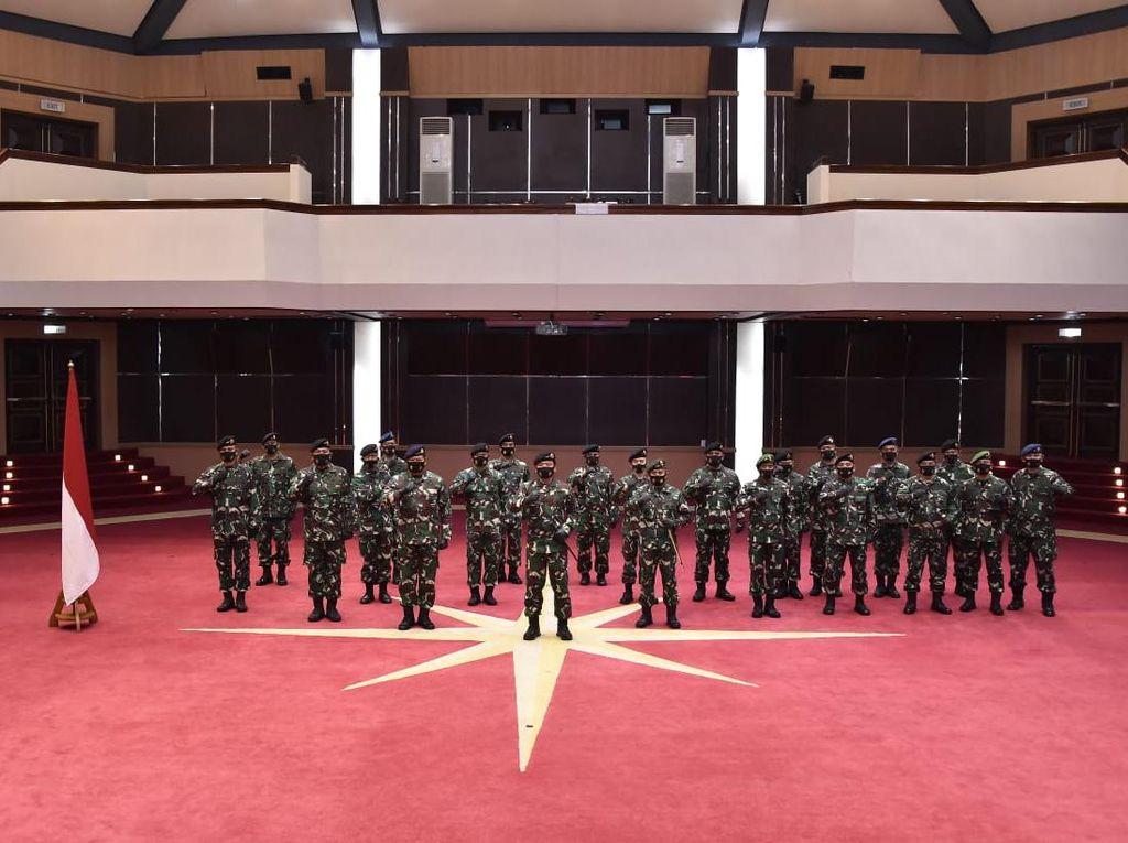 20 Jenderal TNI Dapat Kenaikan Pangkat, Ini Daftarnya