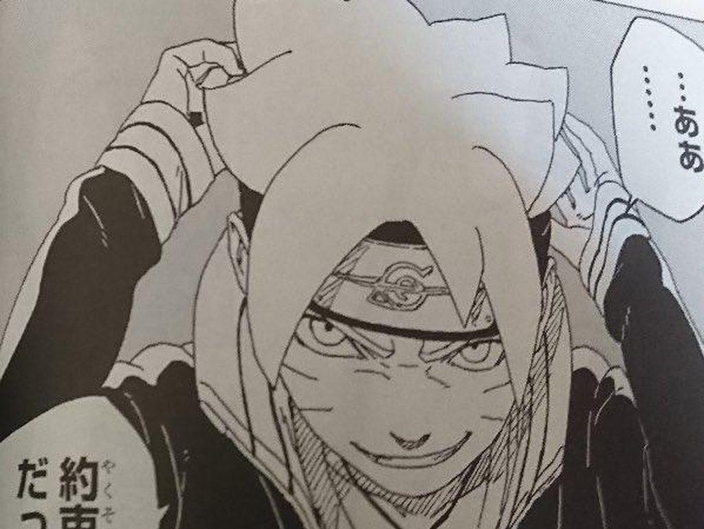 Spoiler Manga Boruto 49: Pertarungan Melawan Isshiki Segera Dimulai