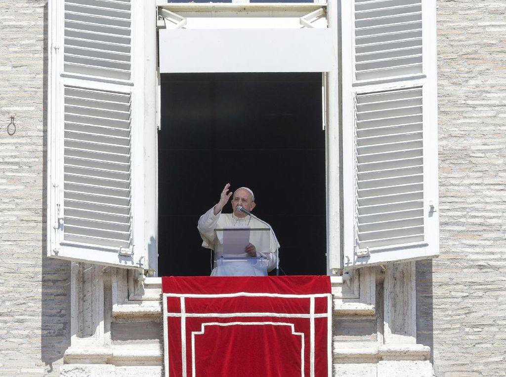 Paus Fransiskus: Menyedihkan Jika Orang Kaya Jadi Prioritas Vaksin Corona