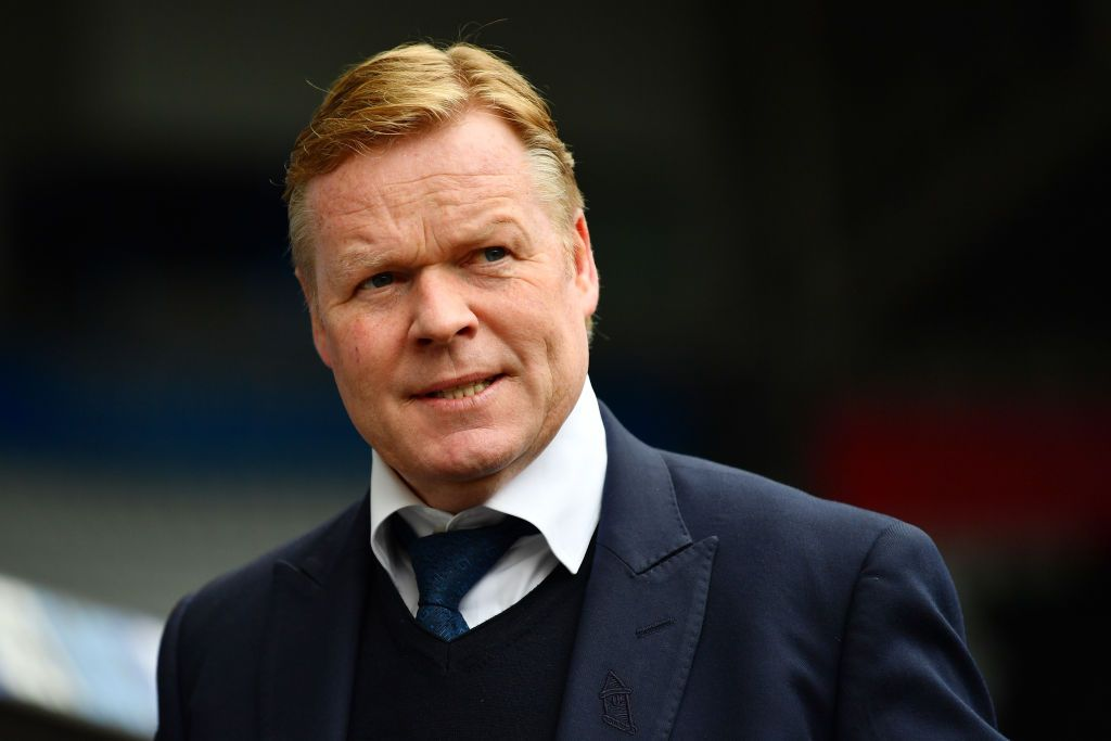 SWANSEA, WALES - MAY 06: Ronald Koeman, Manager of Everton looks on prior to the Premier League match between Swansea City and Everton at the Liberty Stadium on May 6, 2017 in Swansea, Wales.  (Photo by Dan Mullan/Getty Images)