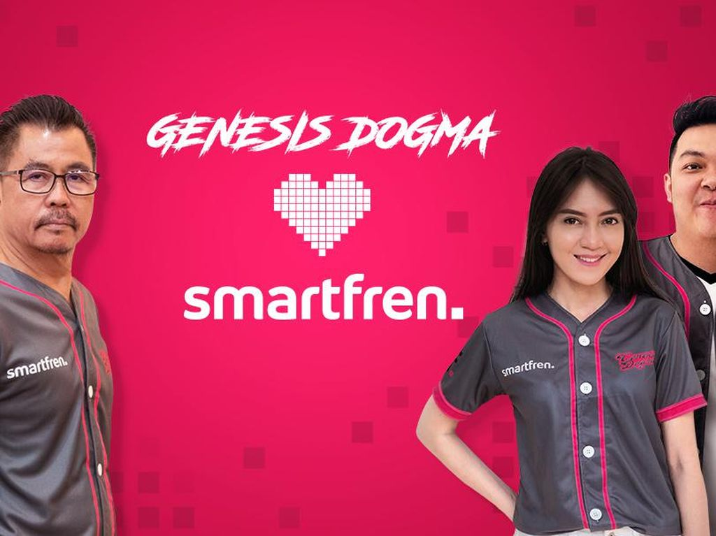Smartfren Gandeng Genesis Dogma Bikin Edukasi Potensi eSports