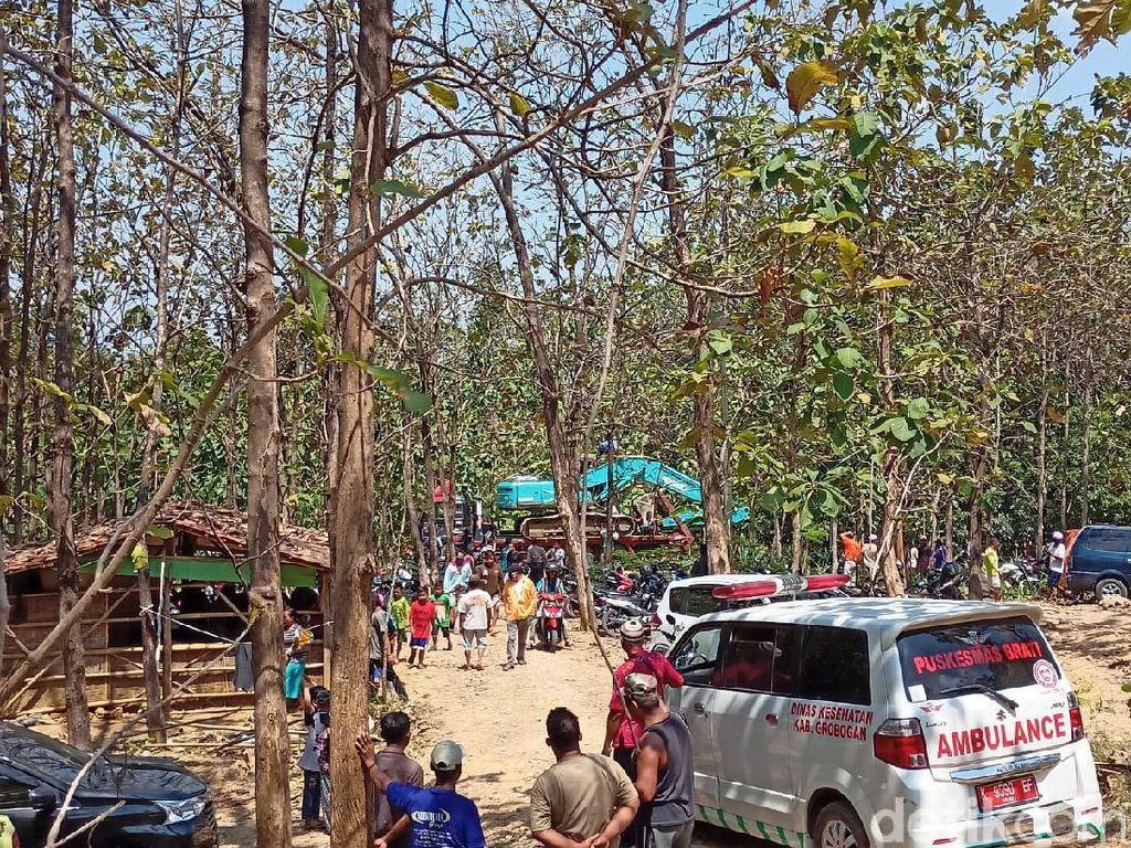 3 Pekerja Tambang yang Tertimbun Longsor di Grobogan Ditemukan Tewas