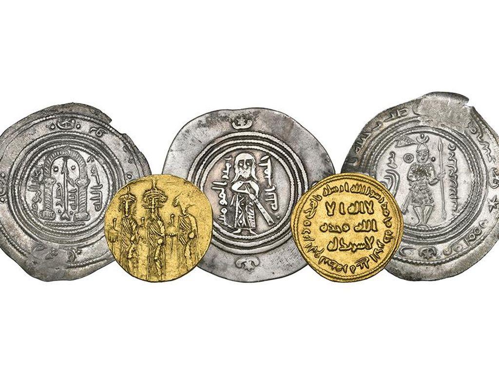 5 Koin Kuno Peradaban Islam Dilelang Rp 14 M