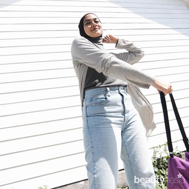 Inspirasi gaya hijab Ayudia