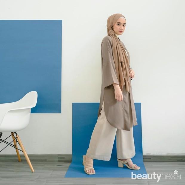 Inspirasi hijab ala Audia Bing Slamet