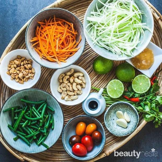 Bahan salad thailand