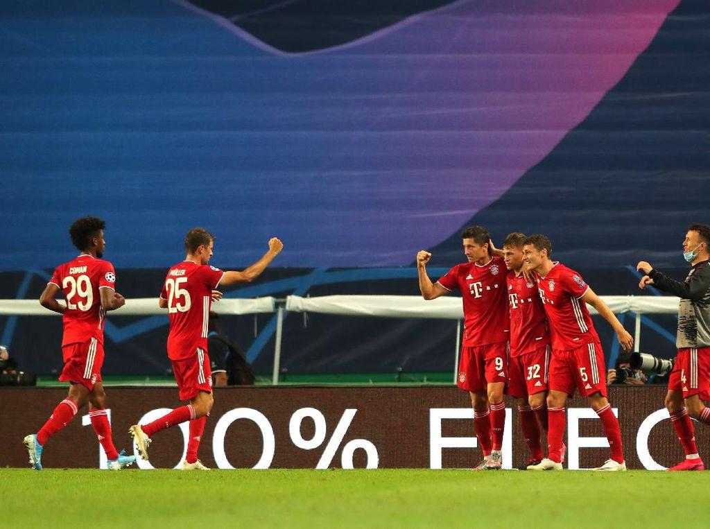 Bayern Munich: 10 Laga, 10 Kemenangan, Maju ke Final Liga Champions