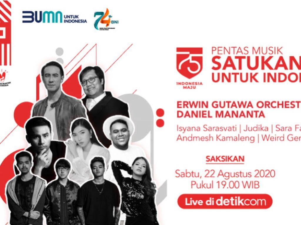 Live! Pentas Musik Satukan Energi Jadi Kado Istimewa Negeri