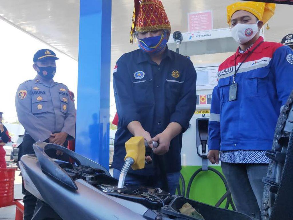 BPH Migas Resmikan BBM 1 Harga di Jalur Trans Sulawesi