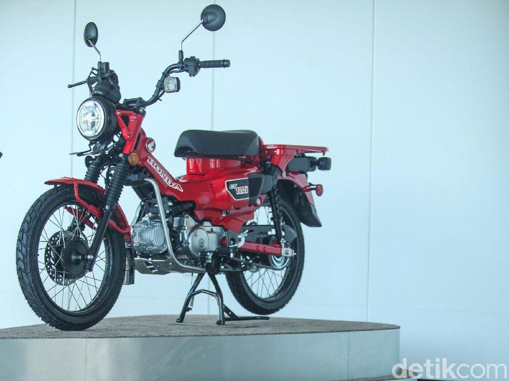 Motor Bebek Termahal di RI Honda CT 125 Bakal Pakai Mesin Lebih Gede?