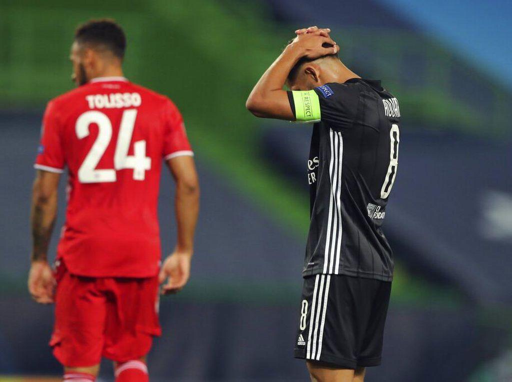 Gagal ke Final Liga Champions, Lyon Cuci Gudang?
