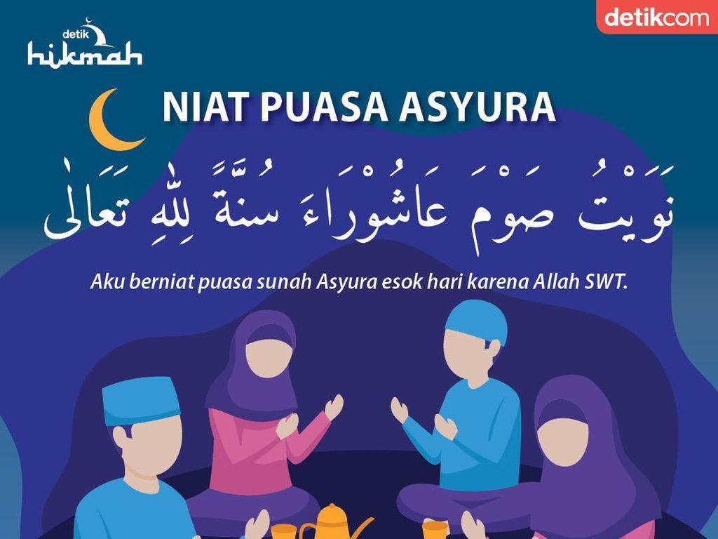 Lafal Niat Puasa Asyura: Arab, Latin dan Terjemahan