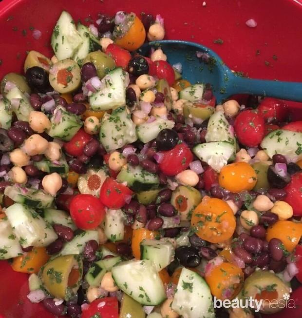 Resep salad sayur untuk diet