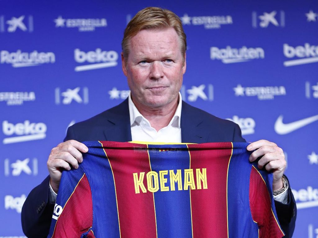 Ronald Koeman Bisa Bawa Barca seperti Era Johan Cruyff