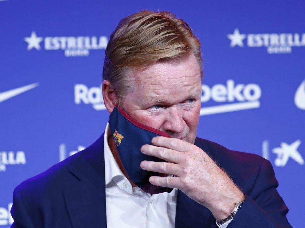 Ronald Koeman Langsung Siksa Pemain Barcelona