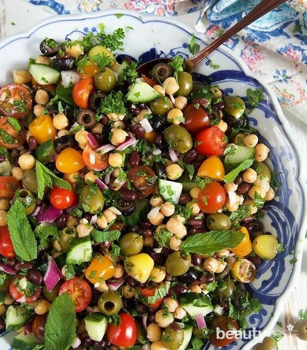 Salad sayur untuk diet sehat