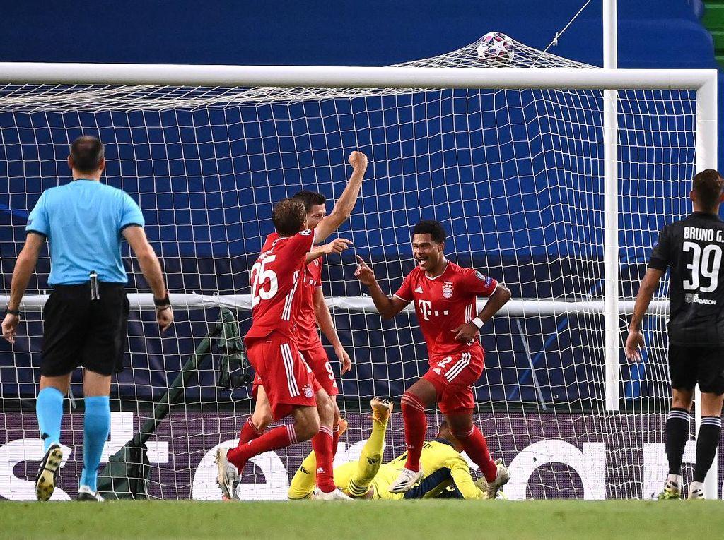 Lyon Vs Bayern Munich: Die Roten Unggul 2-0 di Babak Pertama