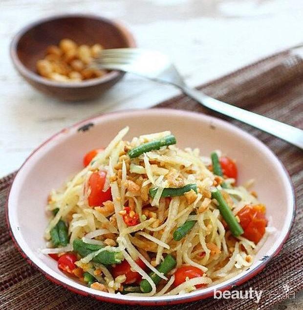 Pepaya salad untuk diet sehat
