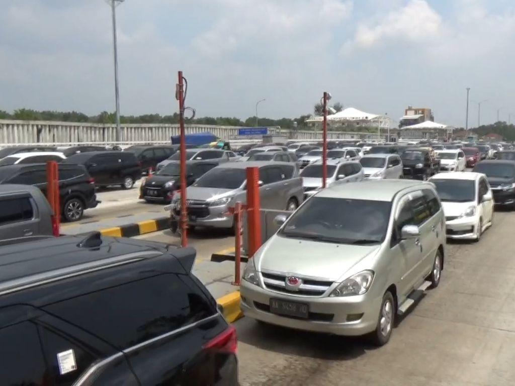 Lalin Lancar, Contraflow di Tol Jakarta-Cikampek Km 47-61 Disetop