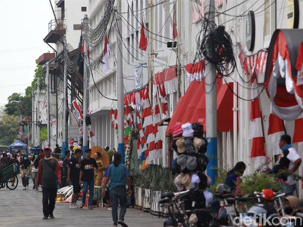 Suasana Kota Tua Saat Libur Panjang Tahun Baru Islam