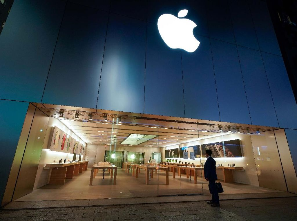 Pecah Rekor! Apple Raup Pendapatan Kuartalan Rp 1,56 Kuadriliun