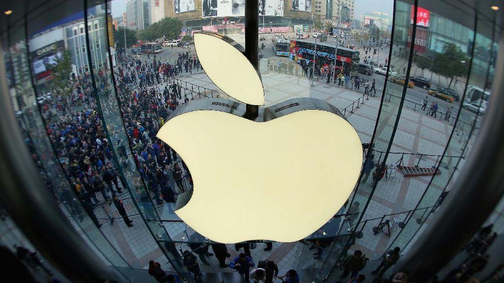 Wow! Apple Punya Valuasi US$ 2 Triliun