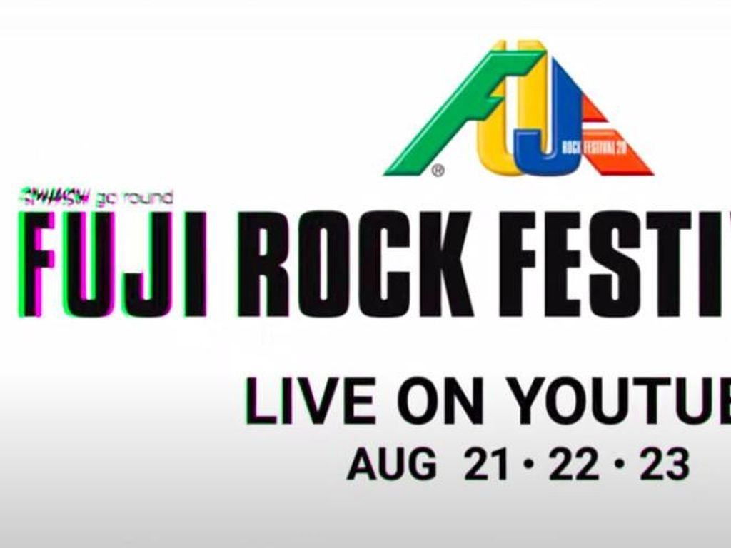 Pengumuman! Arsip Fuji Rock Bisa Ditonton di YouTube