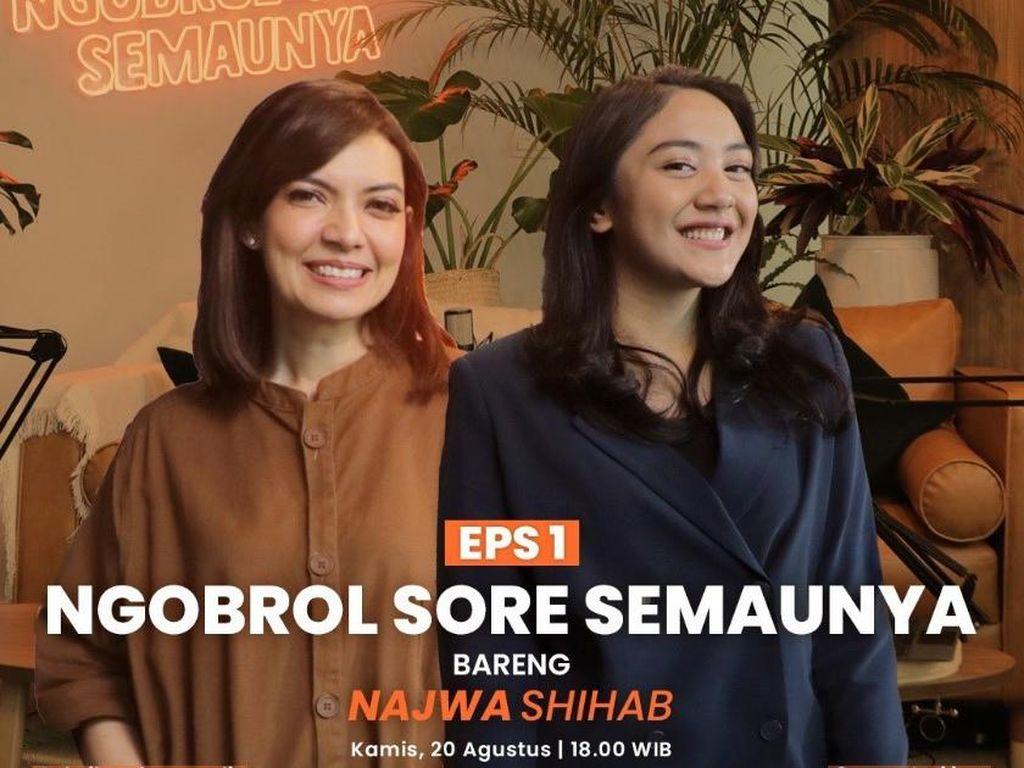 Najwa Shihab Cerita Masa Muda hingga Jurus buat Berani Ngomong