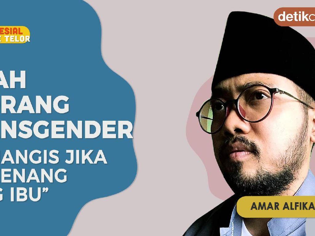 Kisah Transgender Amar,  Bersikap Setelah Bertemu Tokoh Agama