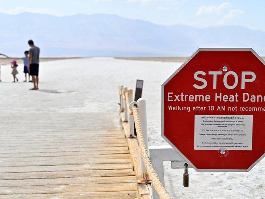 Bagaimana Rasanya Hidup di Death Valley, Tempat Terpanas di Bumi?